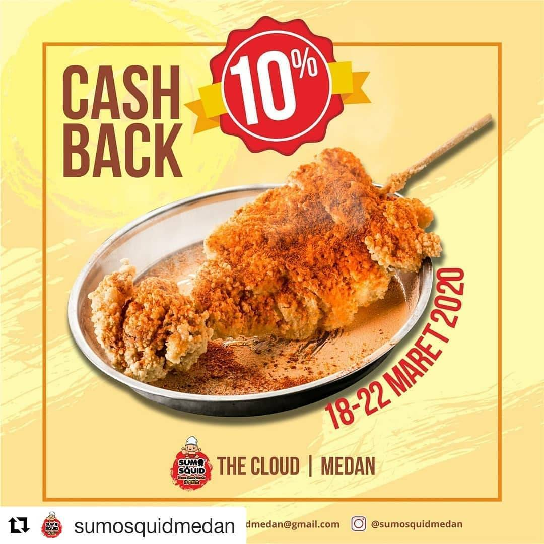 Sumo Squid The Cloud Medan Promo Cashback 10%