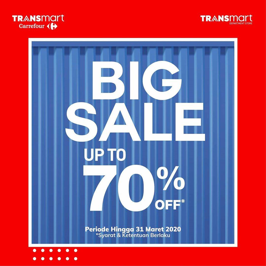 Transmart Carrefour Promo Big Sale Up To 70%