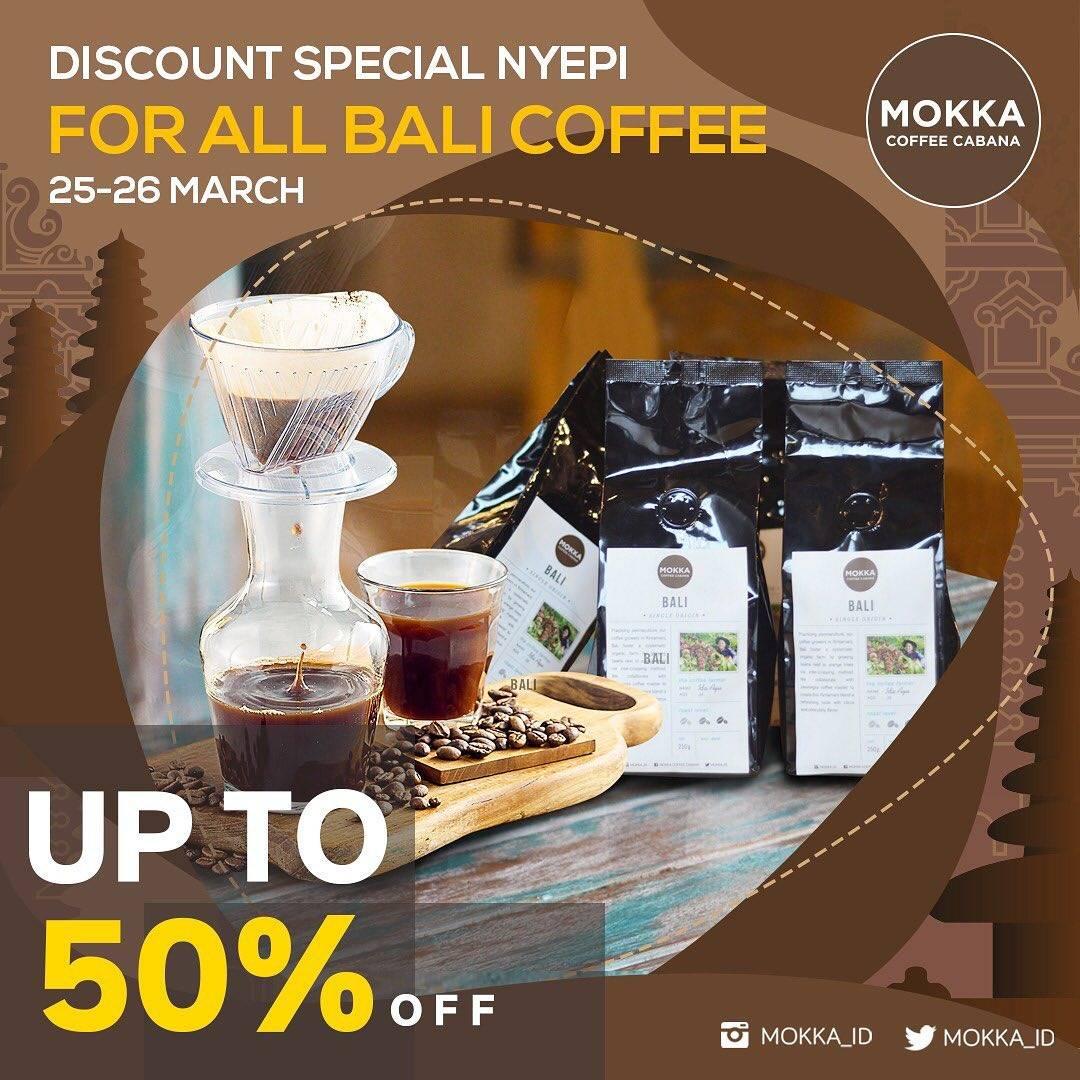 Diskon Mokka Coffee Cabana Promo Diskon 50% Untuk Produk Kopi Bali