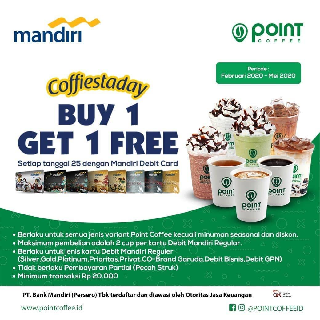 Indomaret Point Coffee Promo Buy 1 Get 1 Free Kopi Dari Mandiri