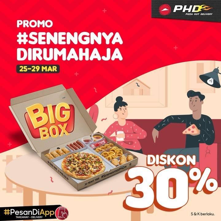 PHD Promo Senengnya Di Rumah Aja, Diskon 30% Untuk Big Box