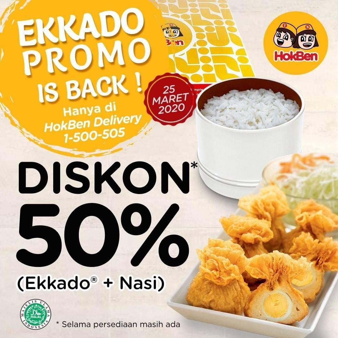 Diskon Hokben Promo Diskon 50% Untuk Menu Shrimp Bowl