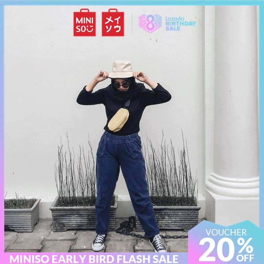 Miniso Promo Diskon 20% Untuk Harajuku Style Sling Bag Hanya Di Lazada