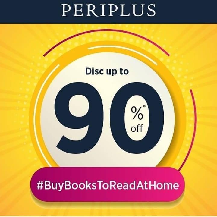 Periplus Promo Diskon Hingga 90% Untuk Buku Favoritmu