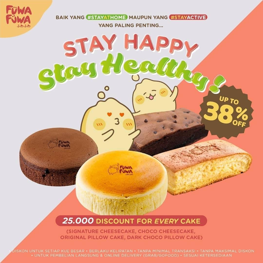 Fuwa Fuwa Promo Diskon Hingga 38% Untuk Semua Cake