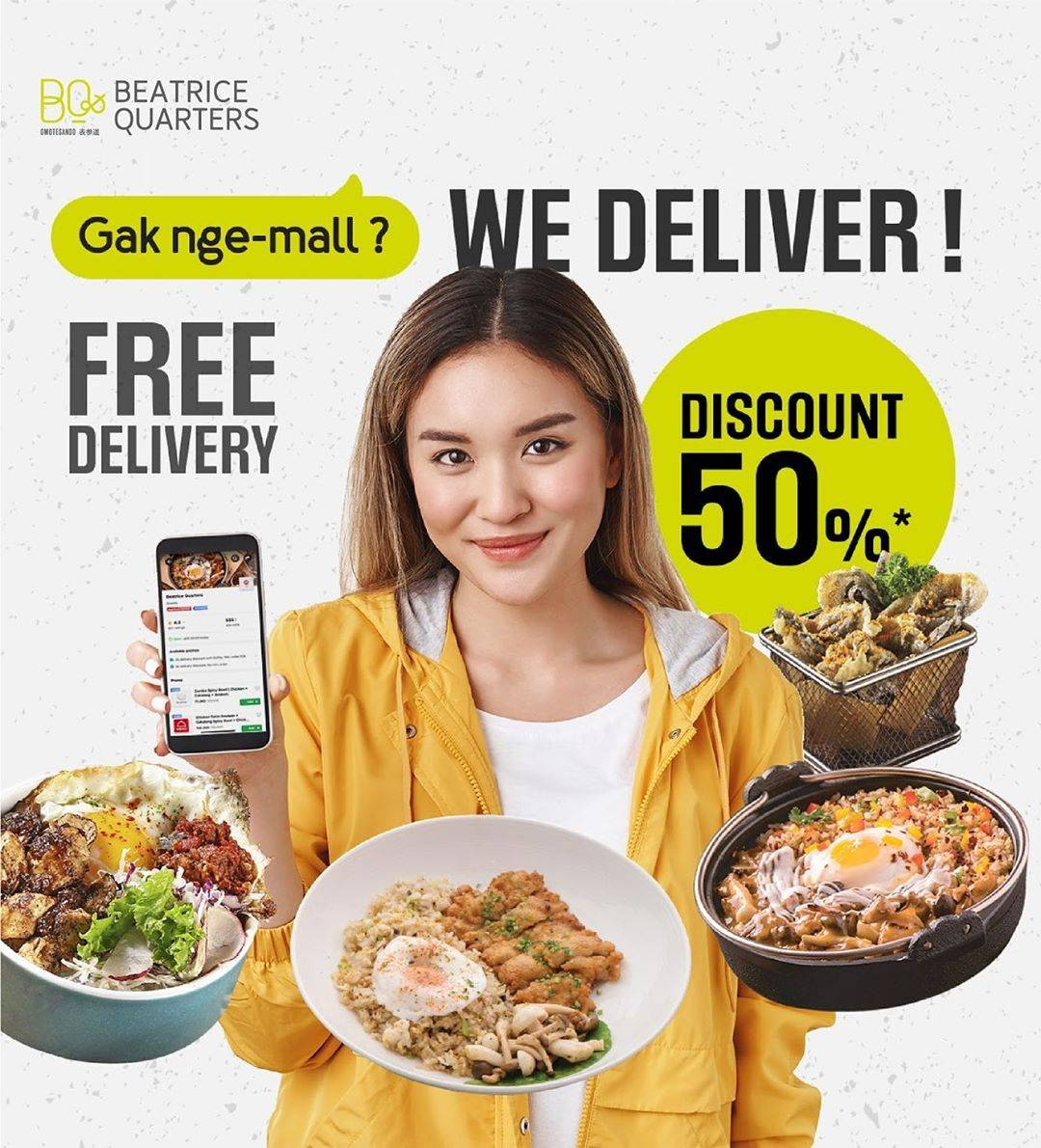 Beatrice Quarters Promo Diskon 50% + Free Delivery