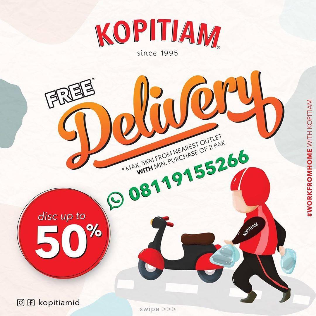 Kopitiam Promo Diskon Hingga 50% Untuk Menu Pilihan + Free Delivery