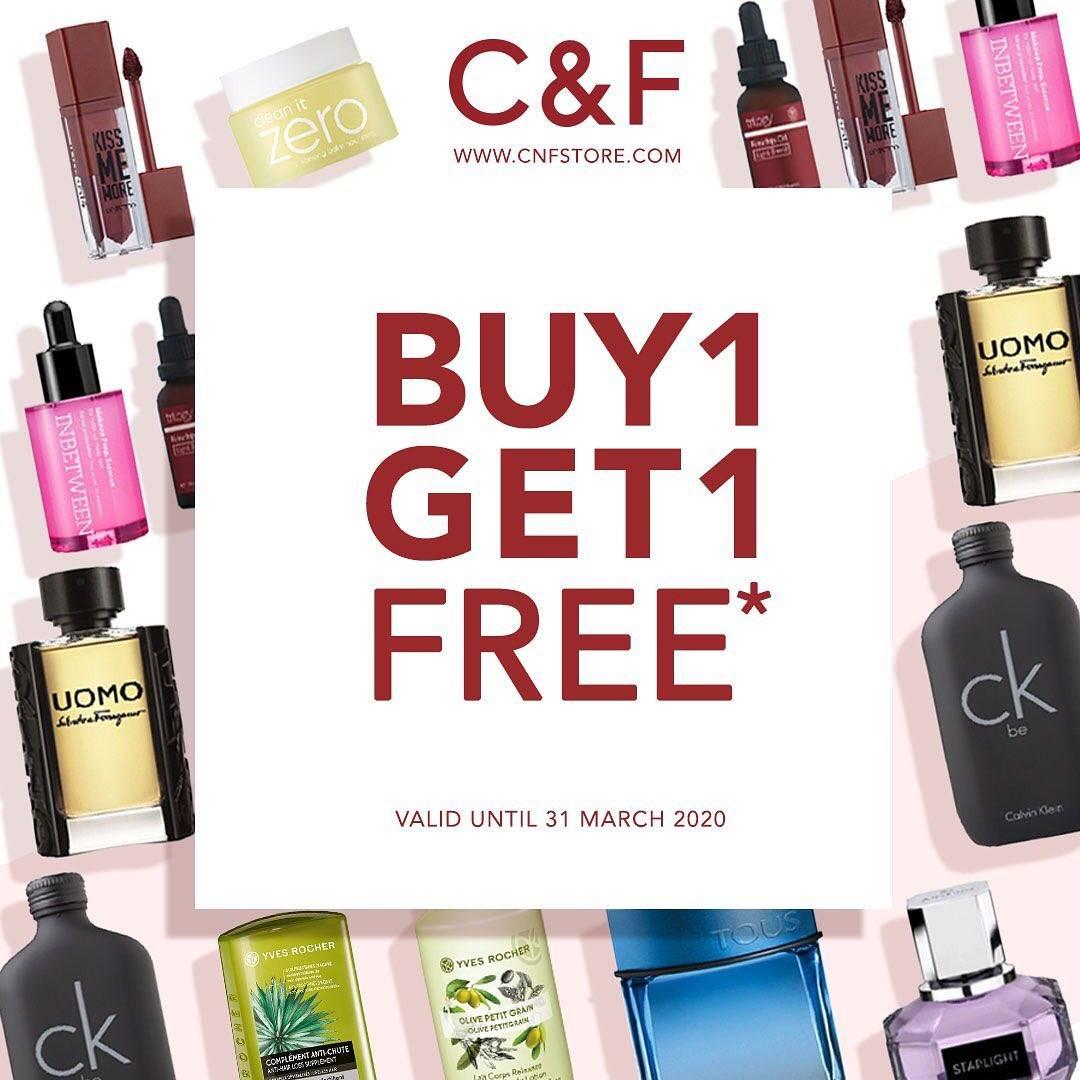 C&F Perfumery Promo Buy 1 Get 1 Free Untuk Produk Favoritmu
