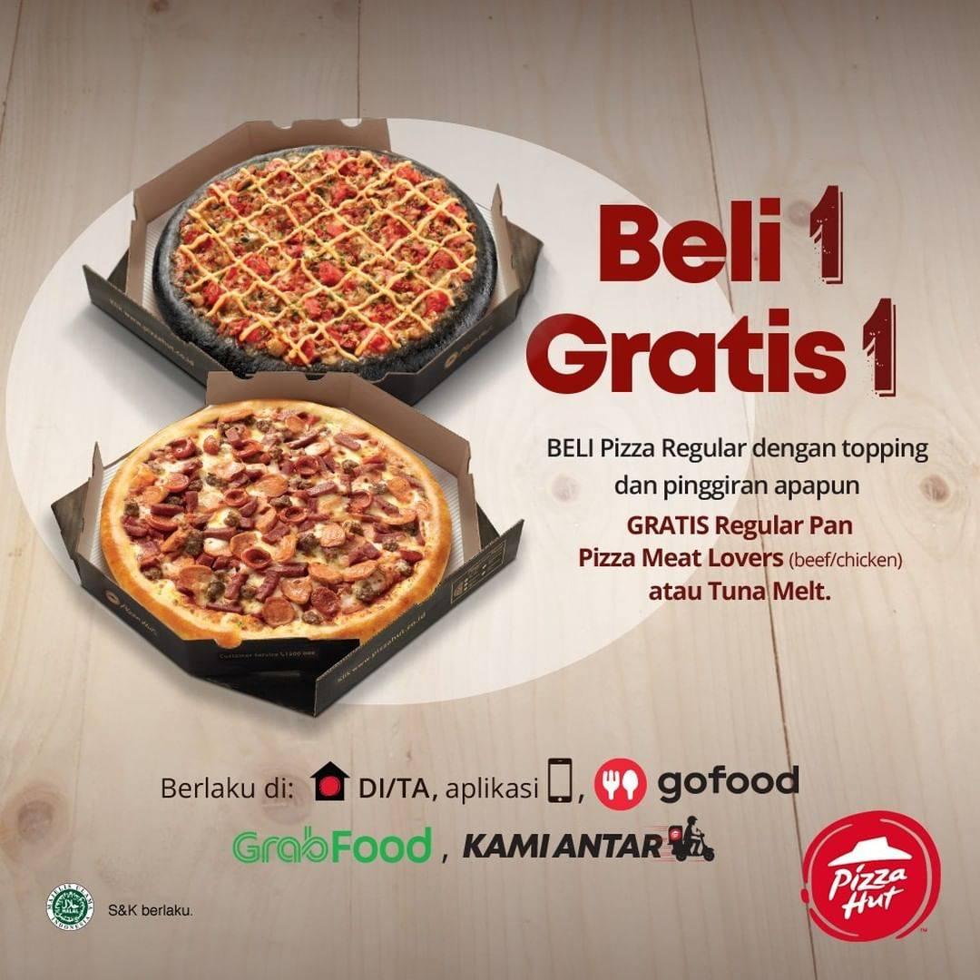 Pizza Hut Promo Beli 1 Gratis 1 Untuk Pemesanan Delivery