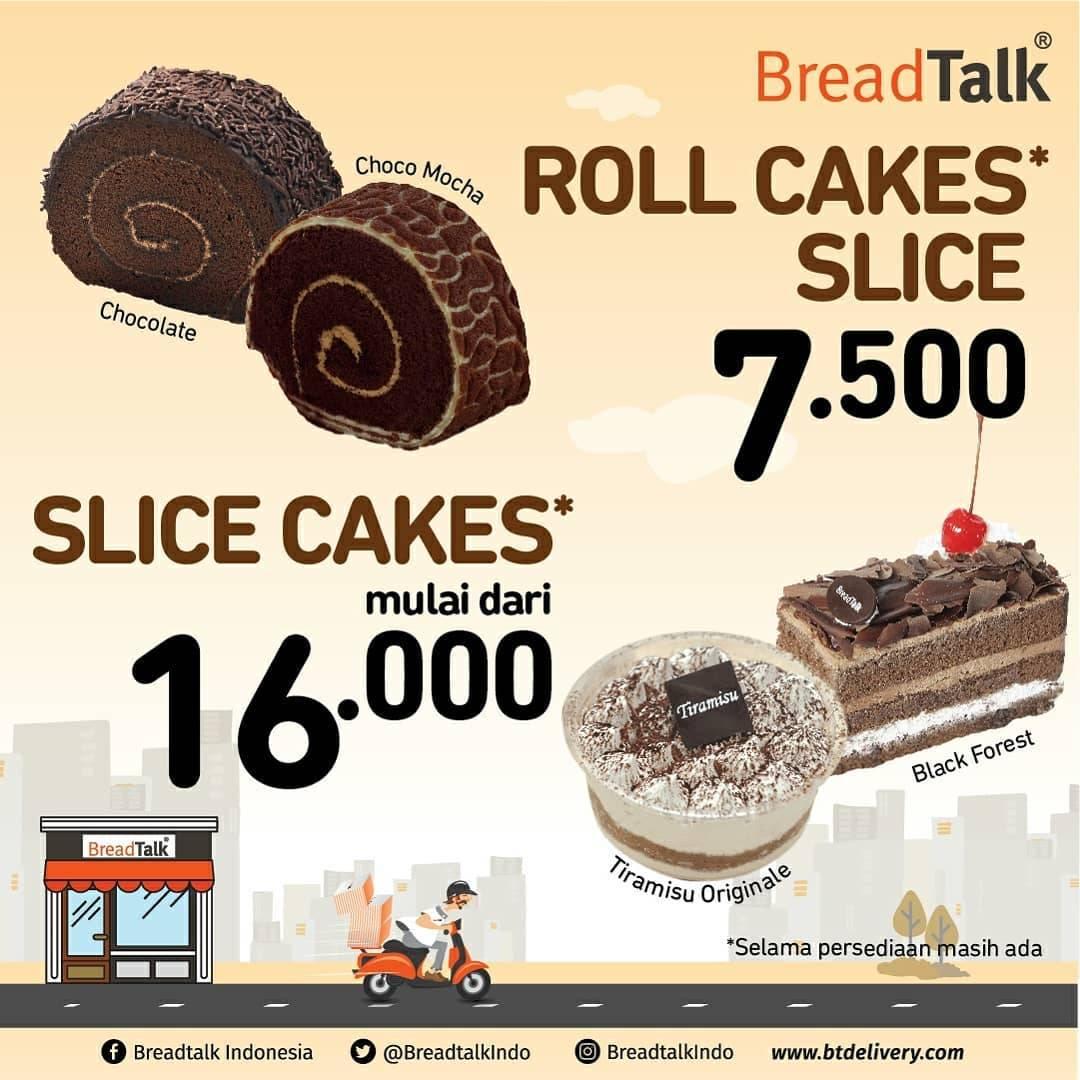 BreadTalk Promo Harga Spesial Cakes Pilihan Mulai Dari Rp. 7.500