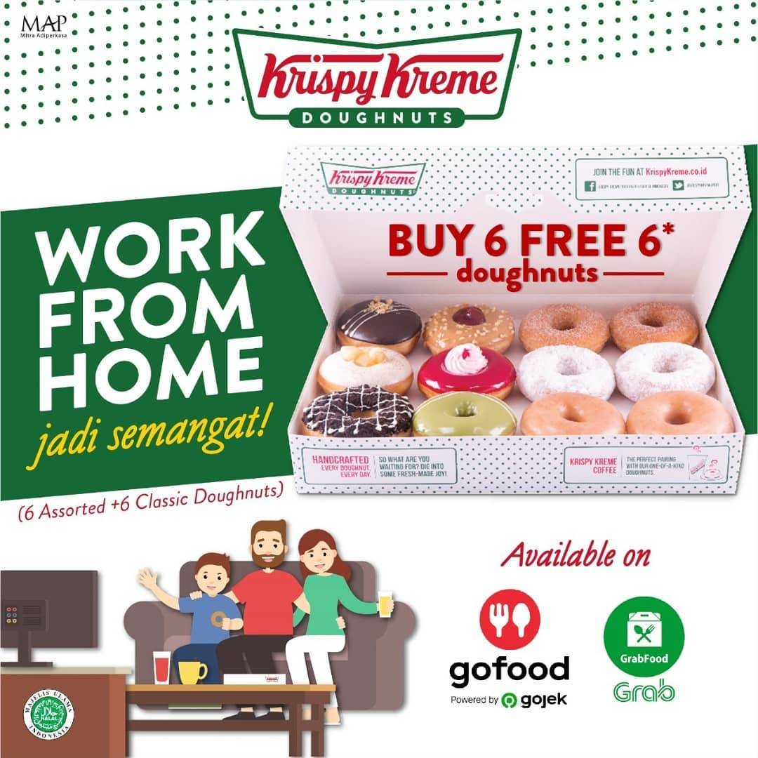 Krispy Kreme Promo Buy 6 Get 6 Free Doughnuts