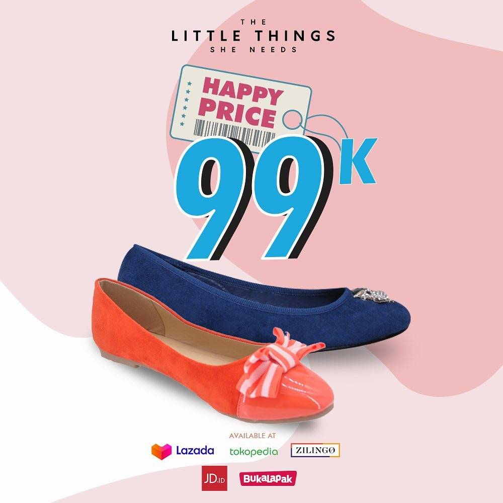 The Little Things She Need Promo Happy Price Only Rp. 99.000 Di Official Store Online
