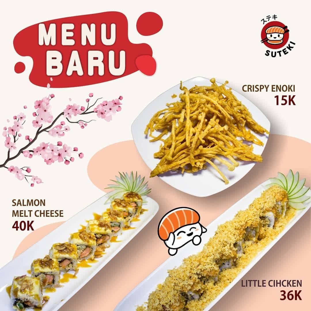 Suteki Sushi Promo Harga Spesial Menu Baru Mulai Dari Rp. 15.000