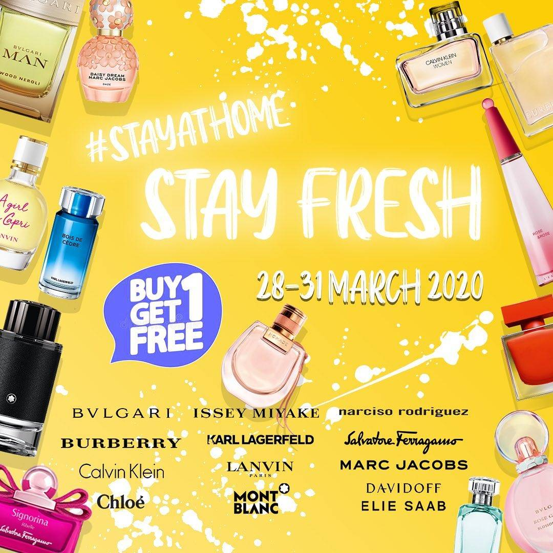 Diskon METRO Department Store Promo Buy 1 Get 1 Free & Discount 30% Off For Selected Parfumes