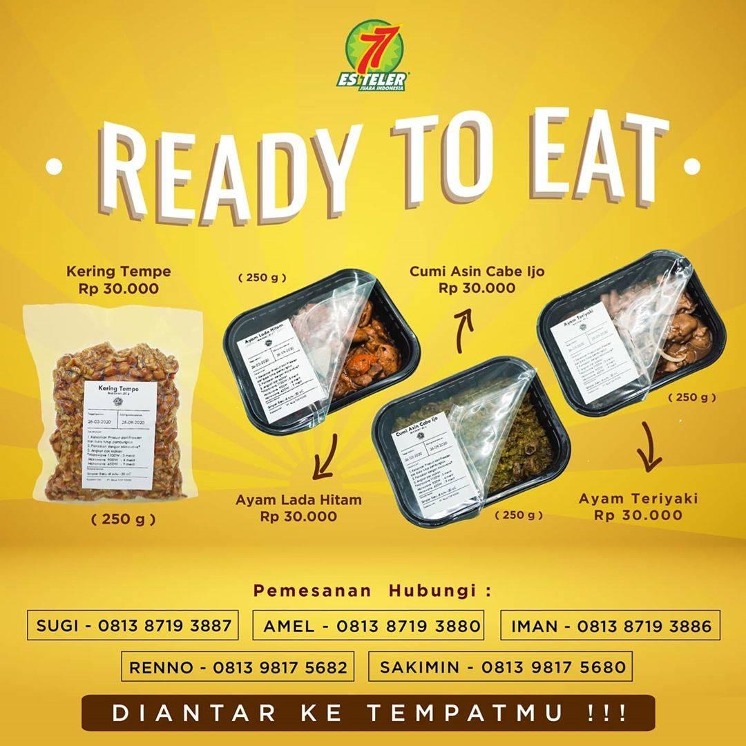 Es Teler 77 Promo Harga Spesial Produk Ready To Eat Hanya Rp. 30.000