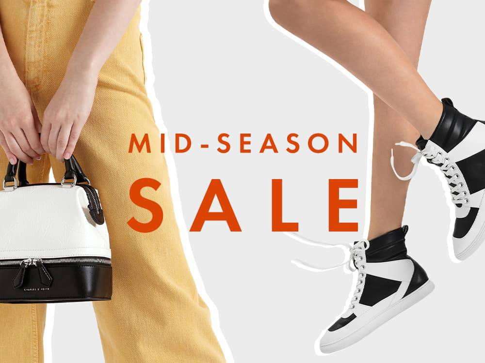 Charles & Keith Promo Discount Up To 50% + 10% Off Sale Items With 2 Items & Above