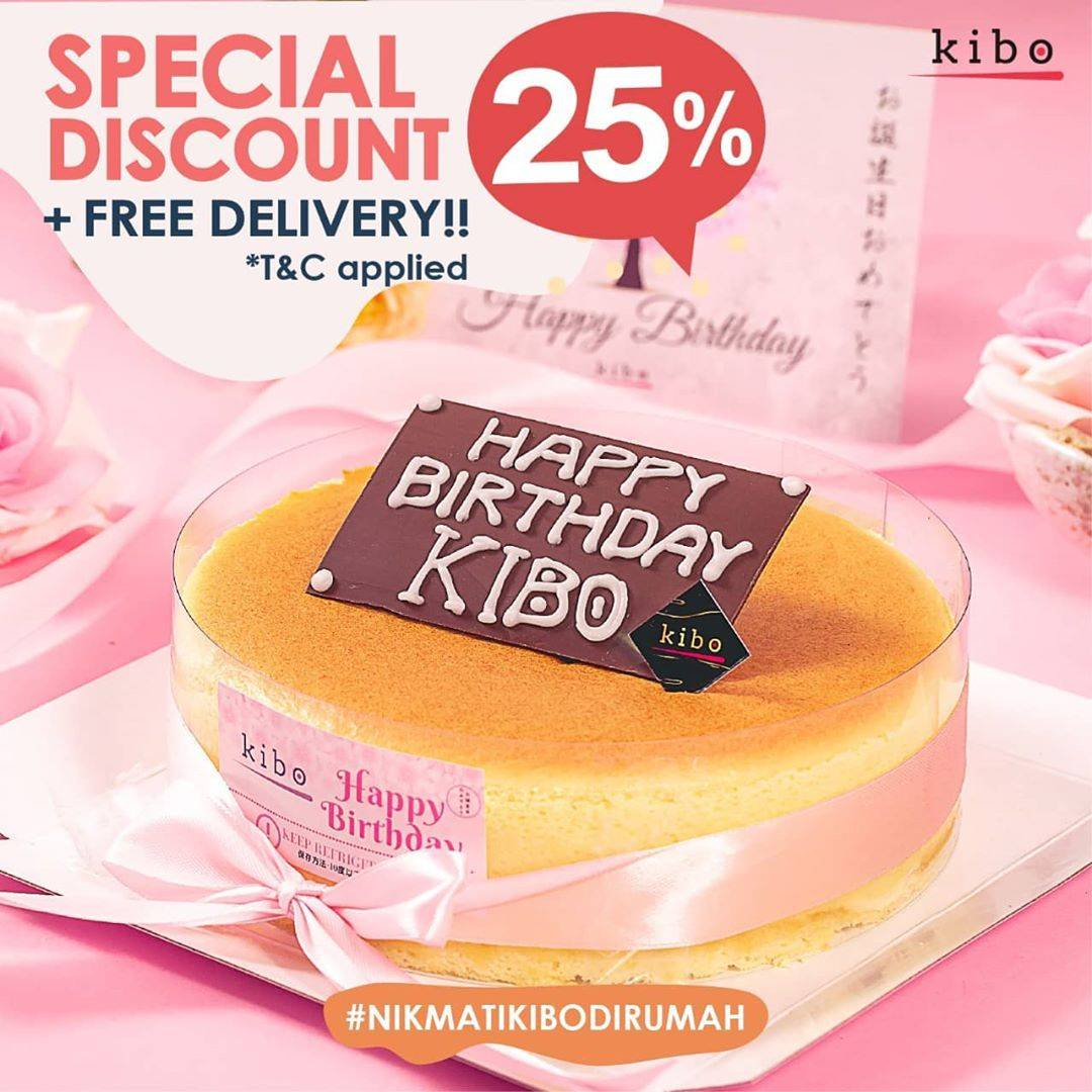 Kibo Cheese Promo Discount 25% Off For All Items + Free Delivery