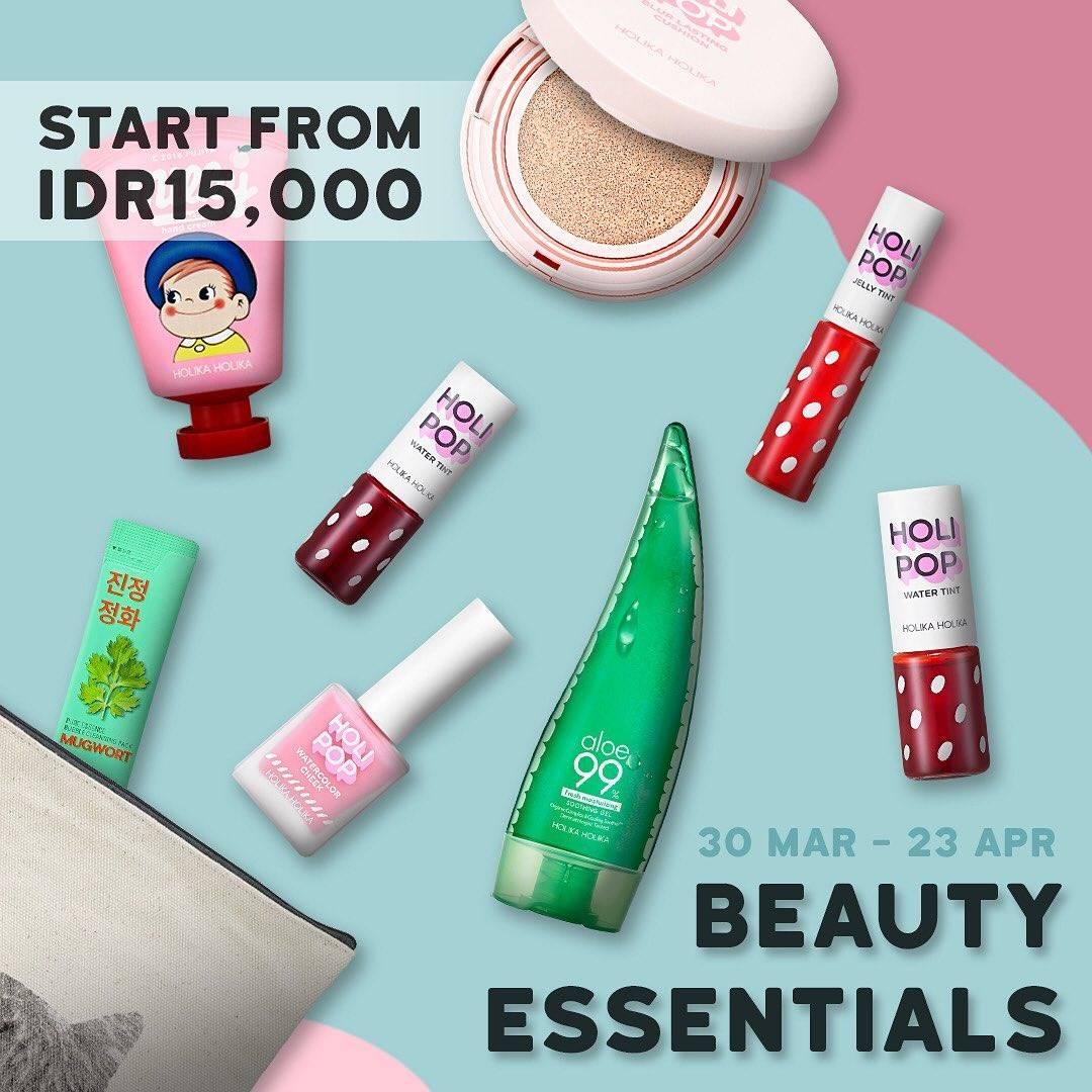 Holika Holika Promo Beauty Essentials Mulai Dari Rp. 15.000 & Diskon Hingga 50% Untuk Produk Pilihan