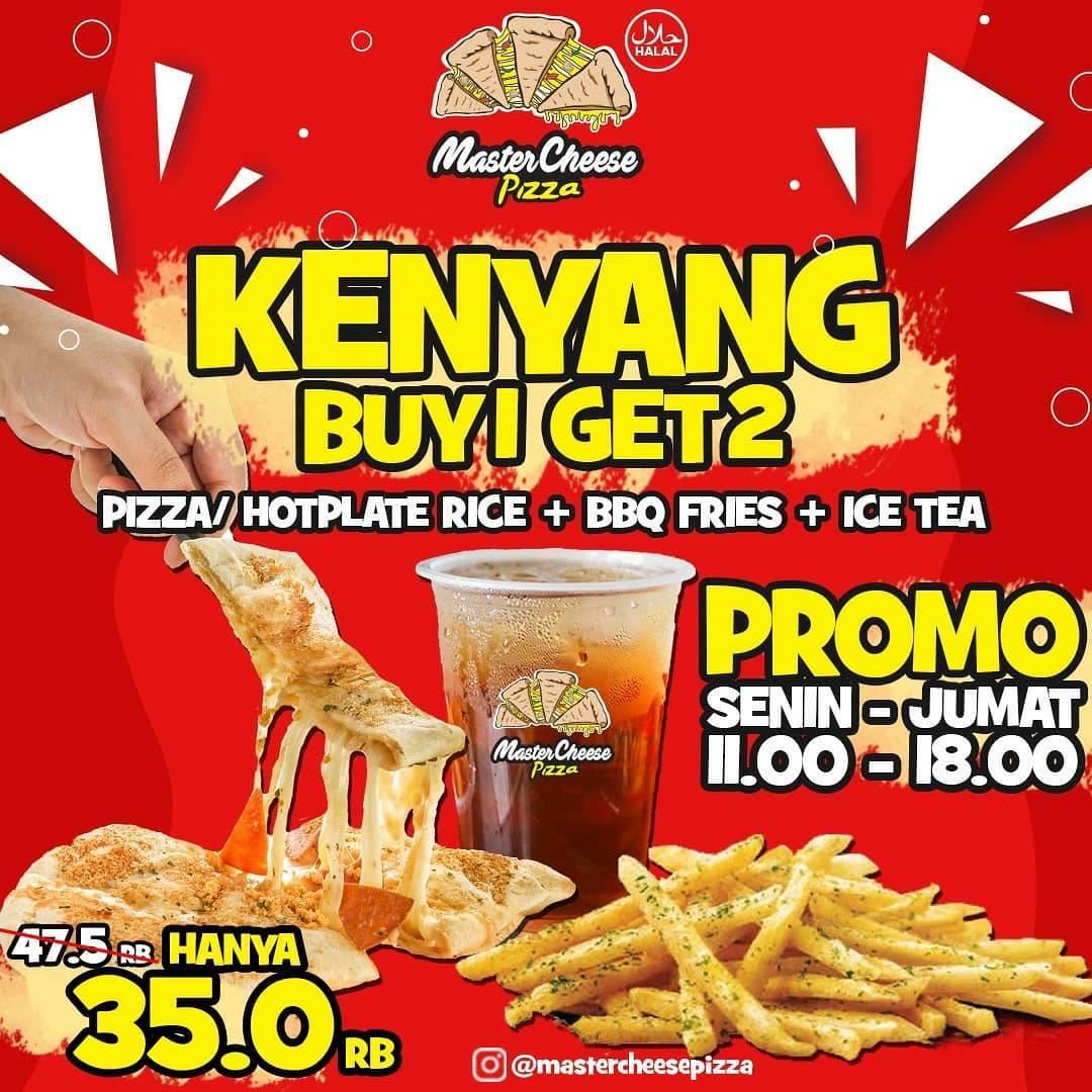 Promo diskon Mastercheese Pizza Promo Bulan Maret