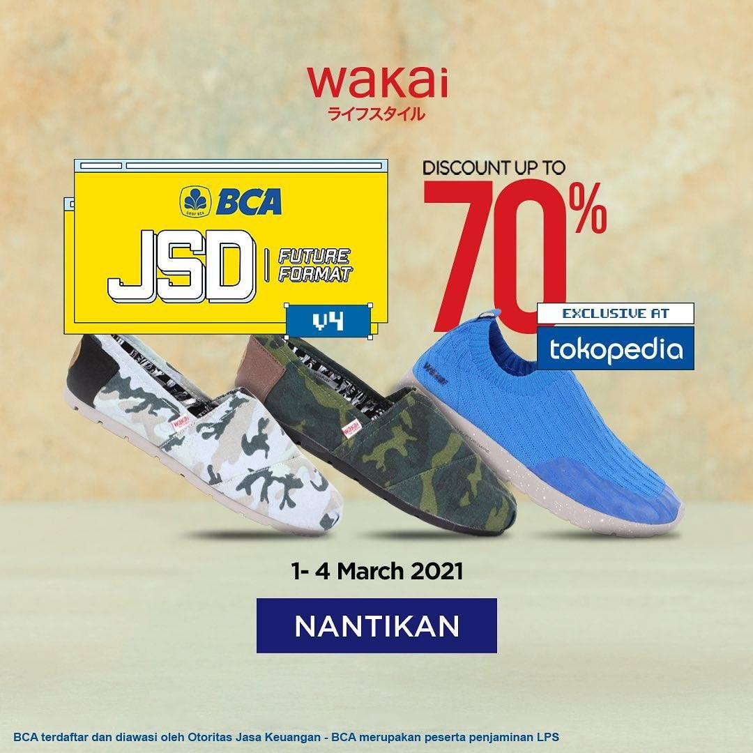 Diskon Wakai Discount Up To 70% Off On Tokopedia