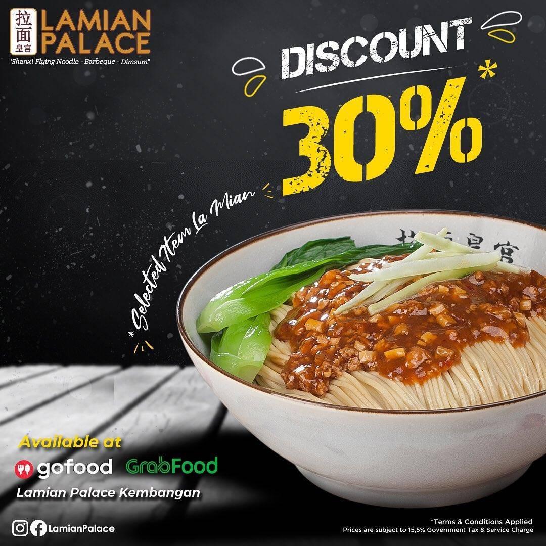 Diskon Lamian Palace Discount 30% Off