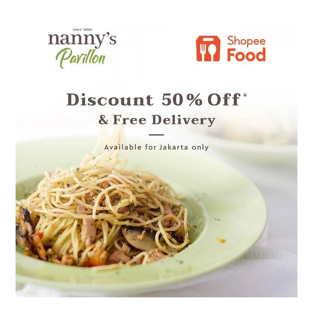 Diskon Nannys Pavillion Discount 50% Off On Shopee Food