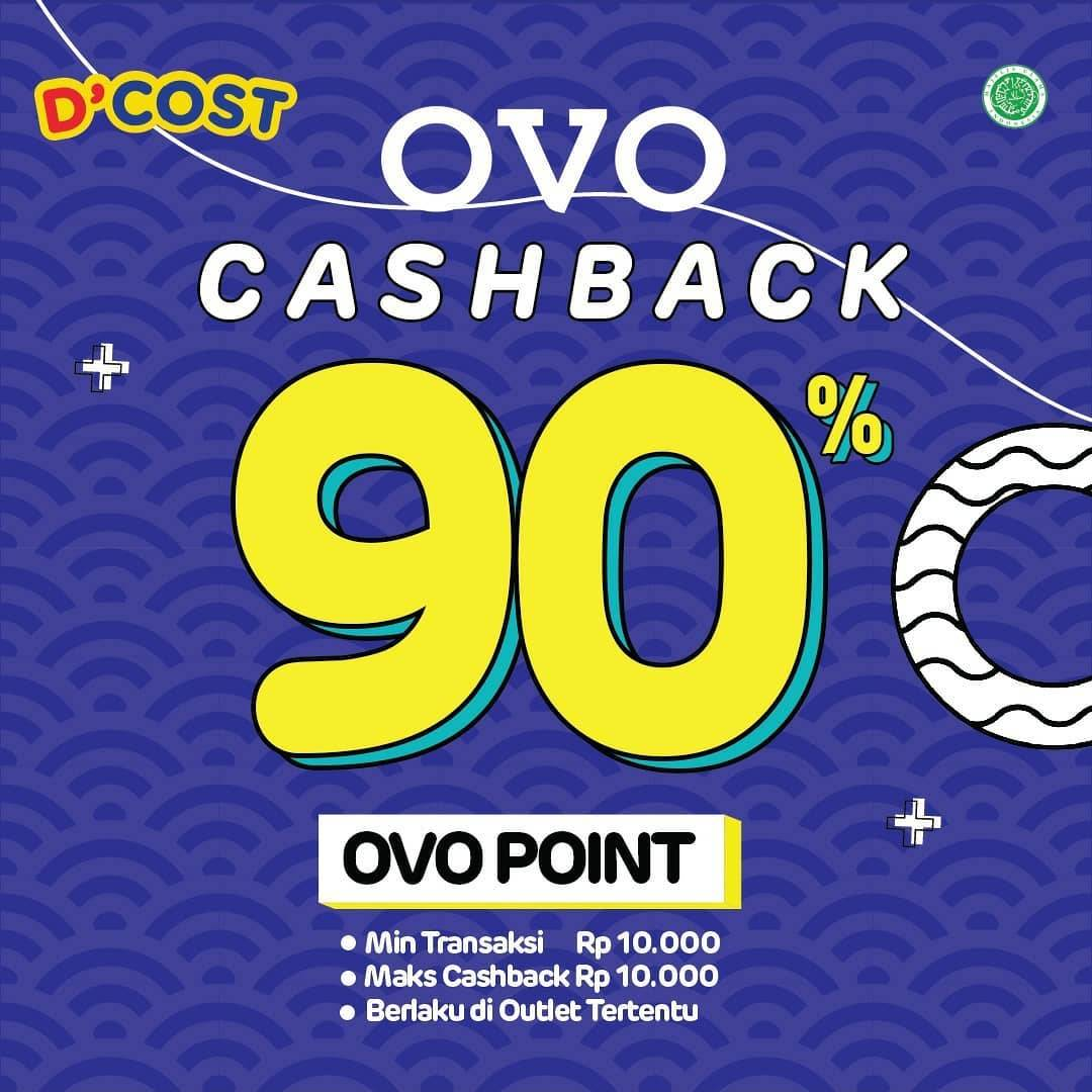 Diskon D'Cost Cashback 90% With OVO