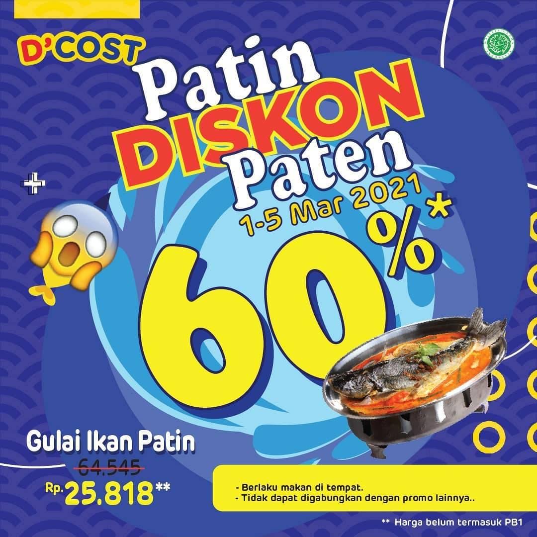 Diskon D'Cost Patin Diskon Paten 60%