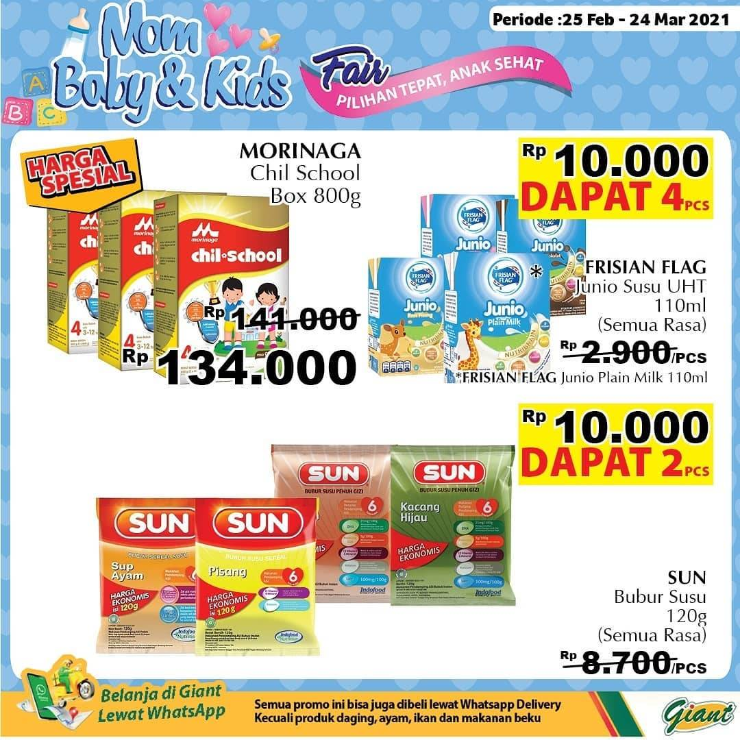 Diskon Katalog Promo Mom, Baby & Kids Fair Periode 25 Februari - 24 Maret 2021