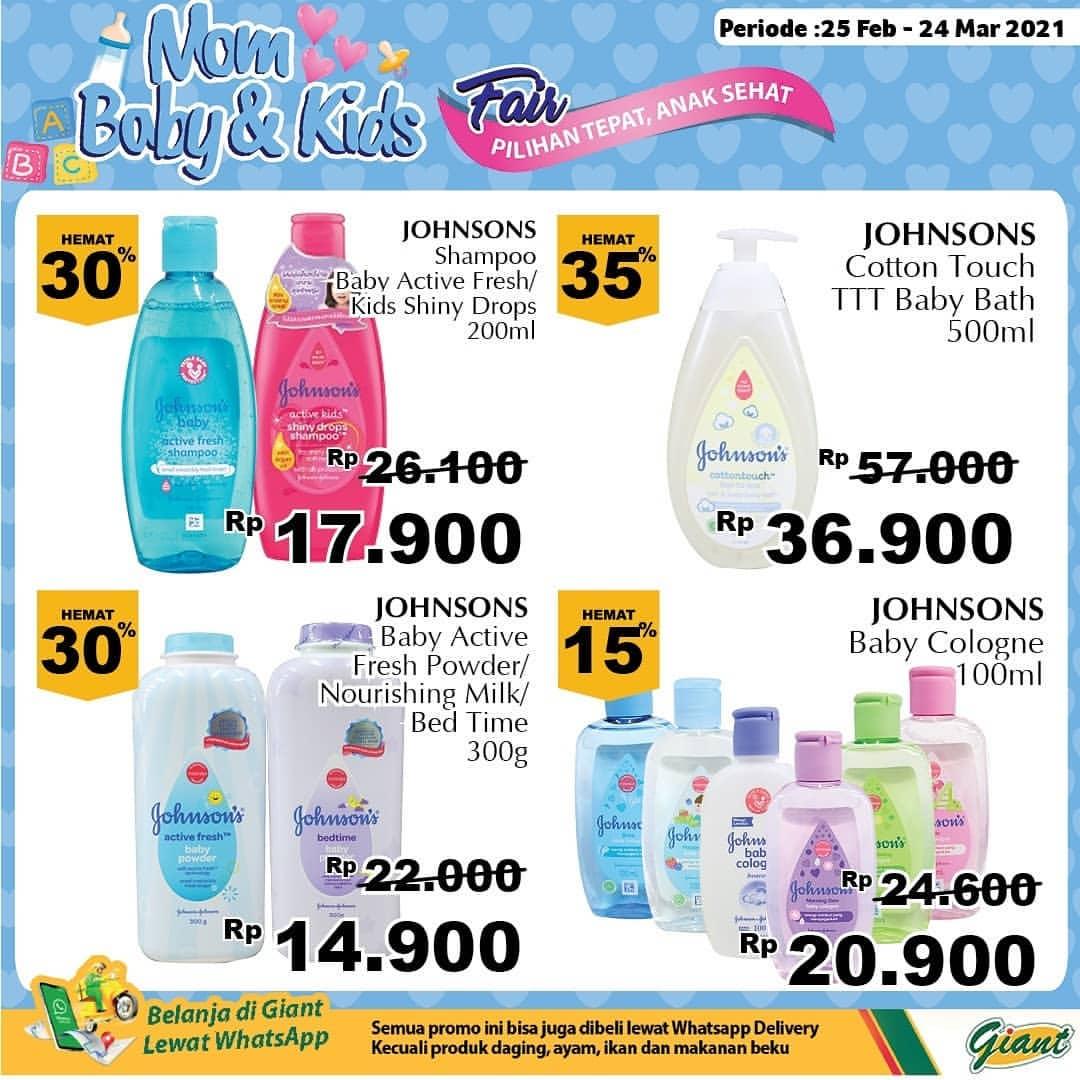Promo diskon Katalog Promo Mom, Baby & Kids Fair Periode 25 Februari - 24 Maret 2021