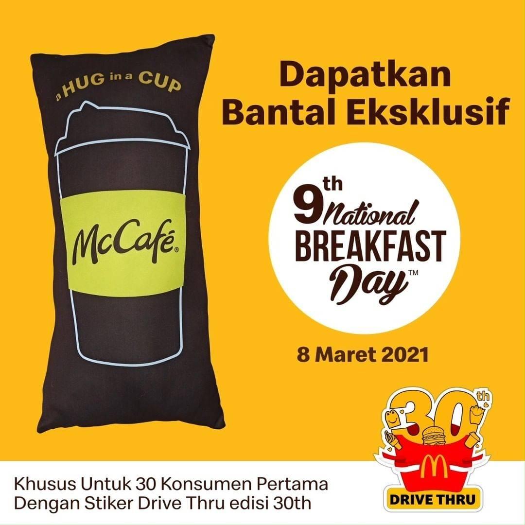 Diskon McDonalds Gratis Bantal Eksklusif
