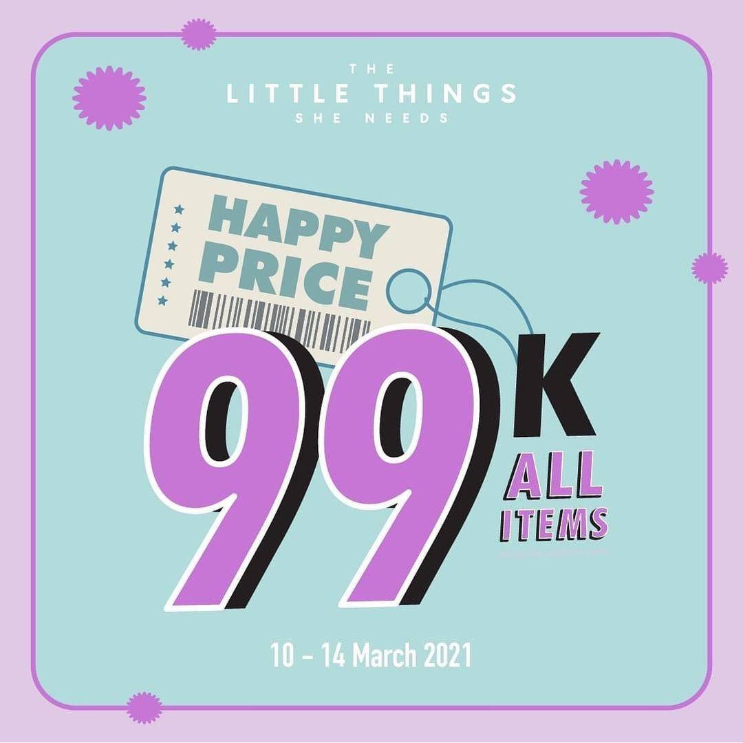 Promo diskon The Little Things She Needs Special Price 99k On Selected Items