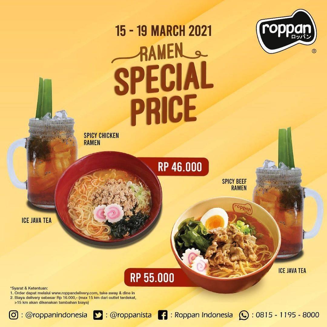 Diskon Roppan Ramen Special Price Start From Rp. 46.000