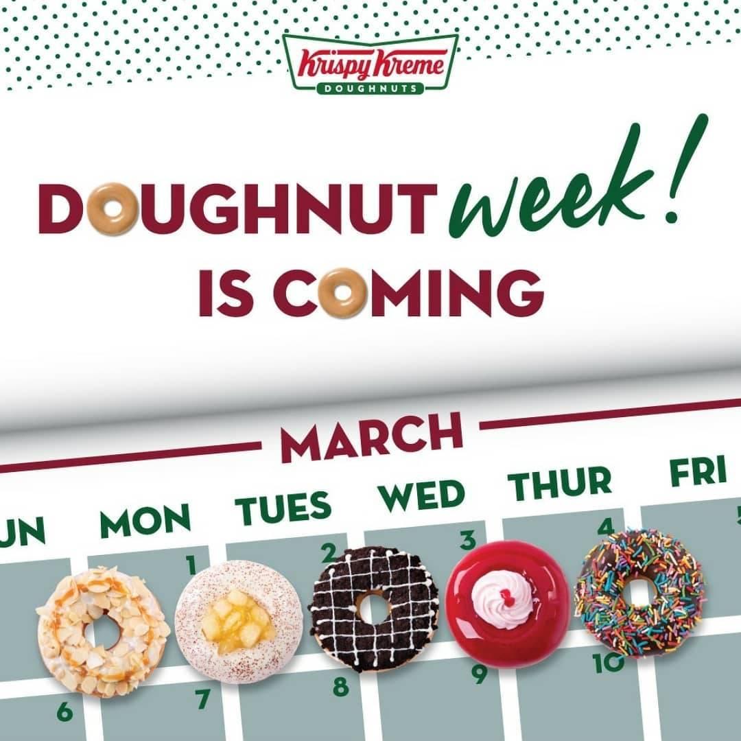 Diskon Krispy Kreme A Week Full Of Promo