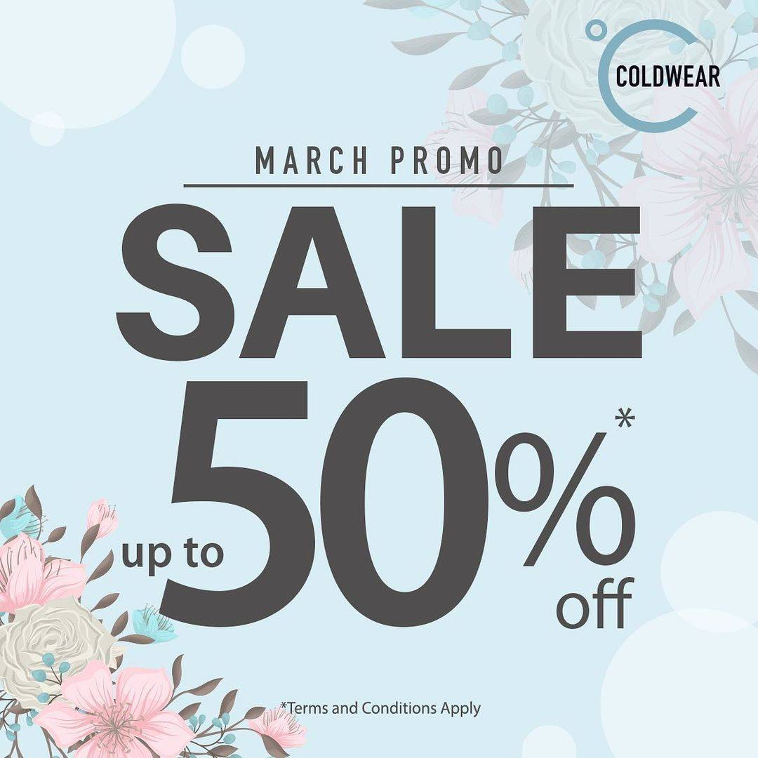 Diskon Coldwear Sale Up To 50% Off