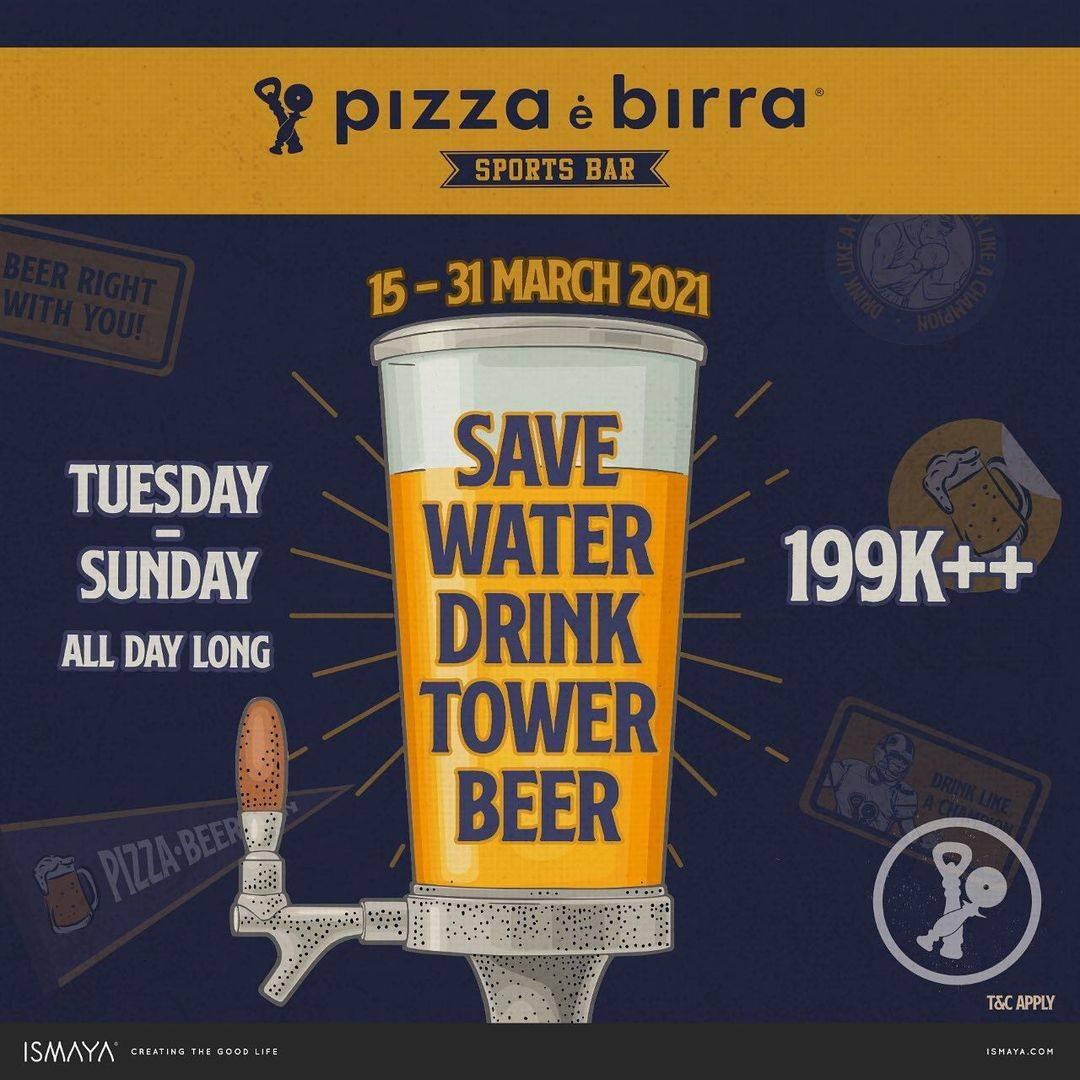 Diskon Pizza E Birra Promo Tuesday-Sunday All Day Long