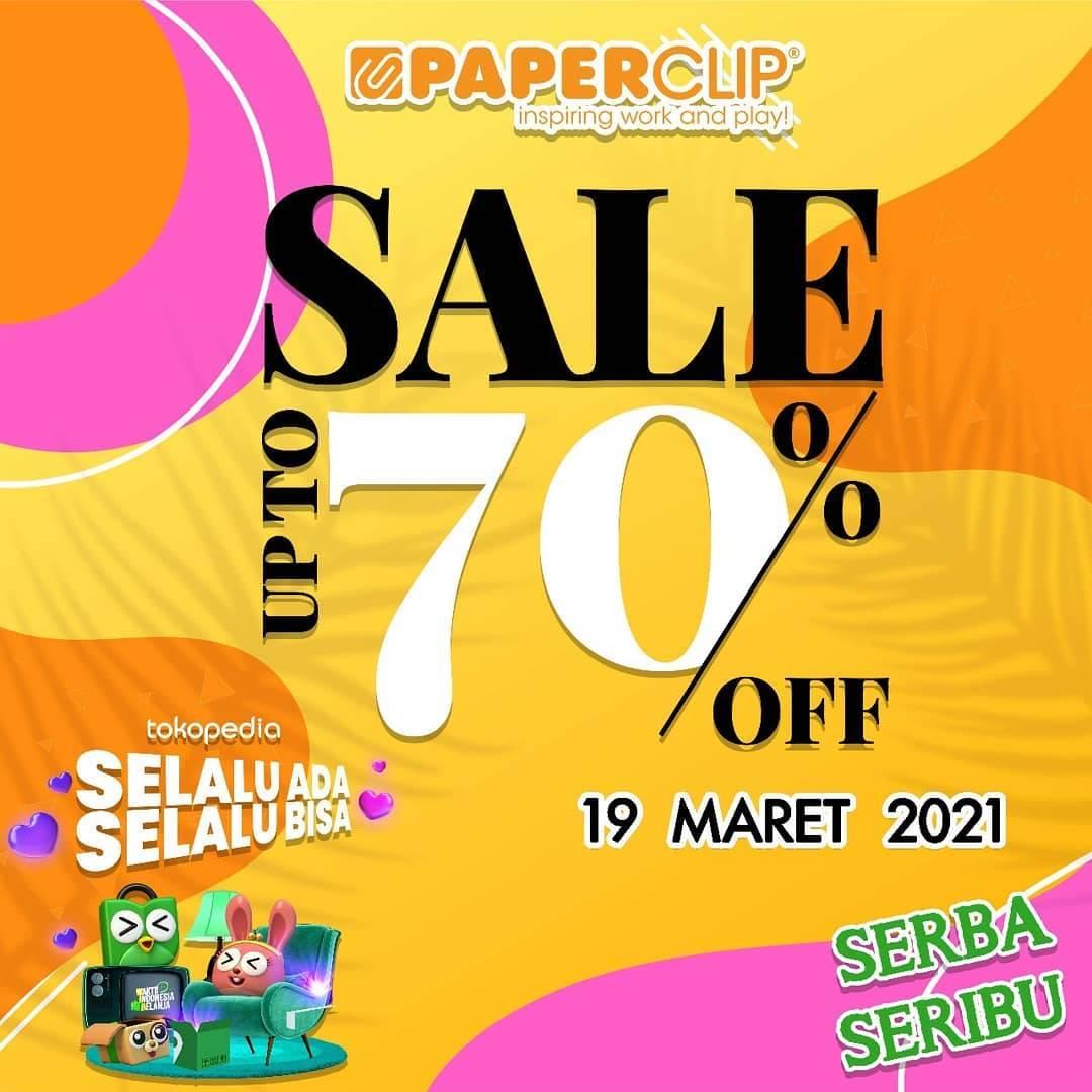 Diskon Paperclip Sale Up To 70% Di Tokopedia