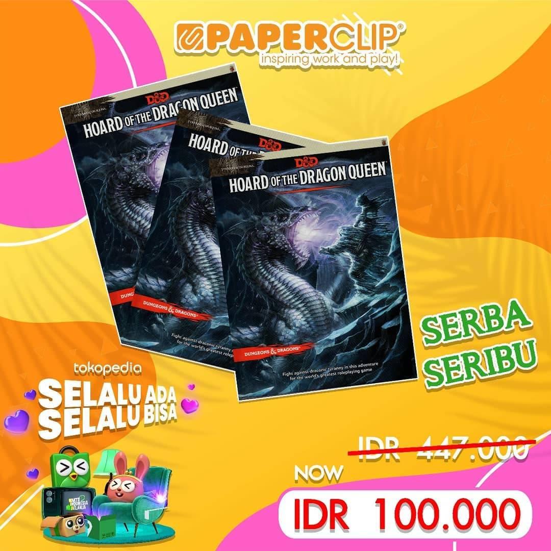 Promo diskon Paperclip Sale Up To 70% Di Tokopedia