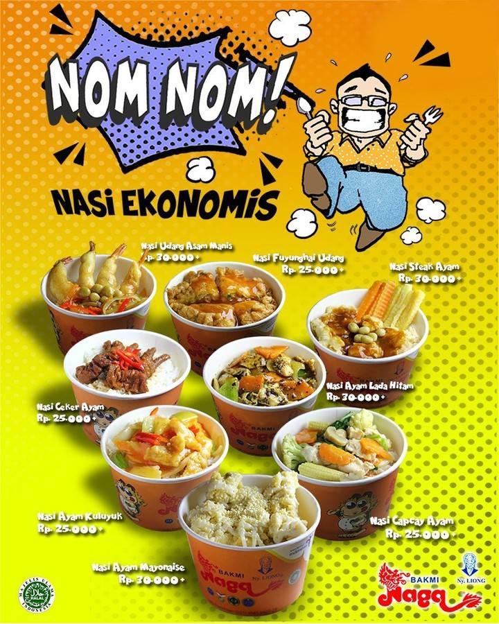 Diskon Bakmi Naga Promo Nasi Ekonomis Hanya Rp. 25.000
