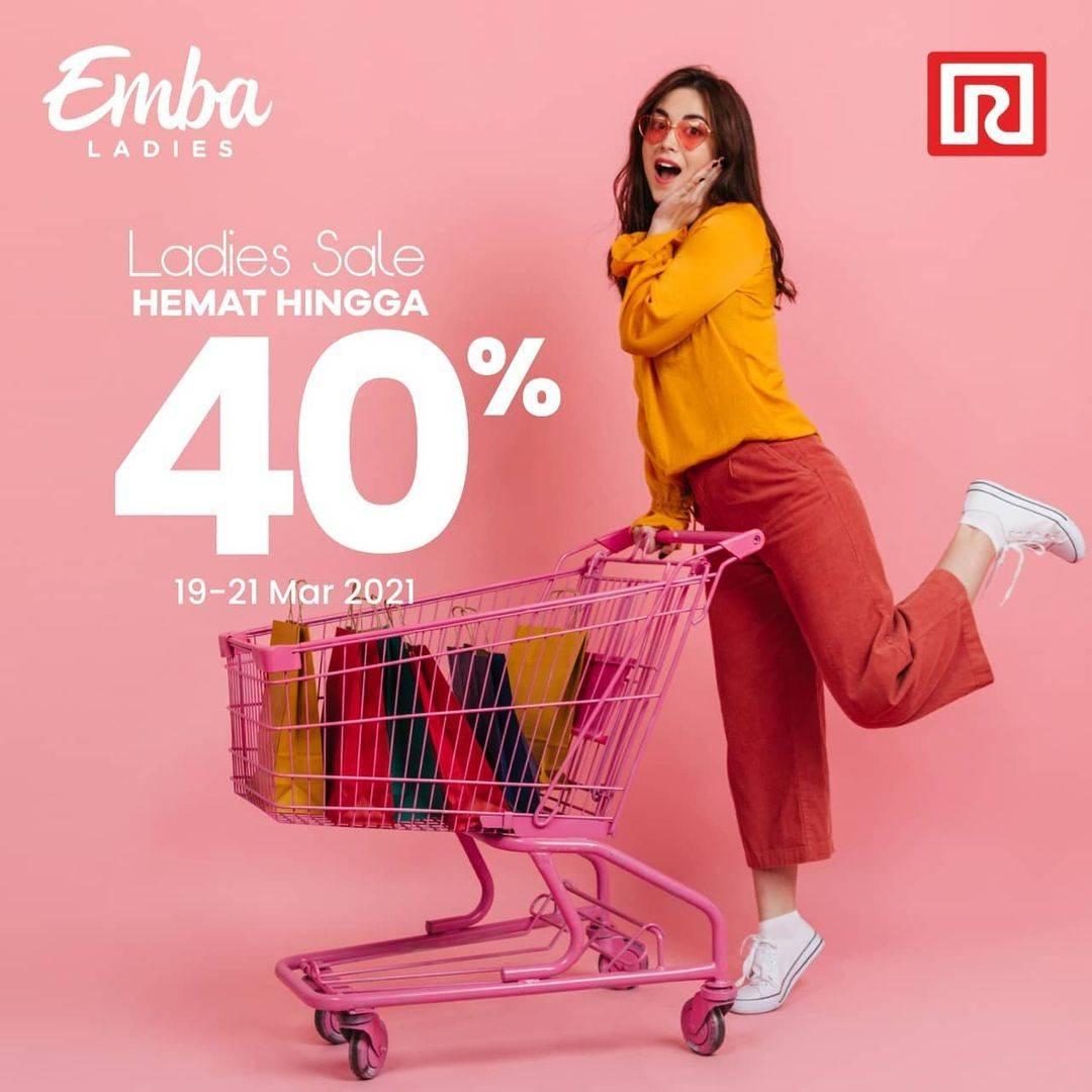 Diskon Ramayana Ladies Sale 40% On Emba Products