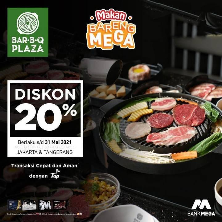 Promo diskon Bank Mega Promo Makan Bareng Bank Mega Dengan Merchant Pilihan