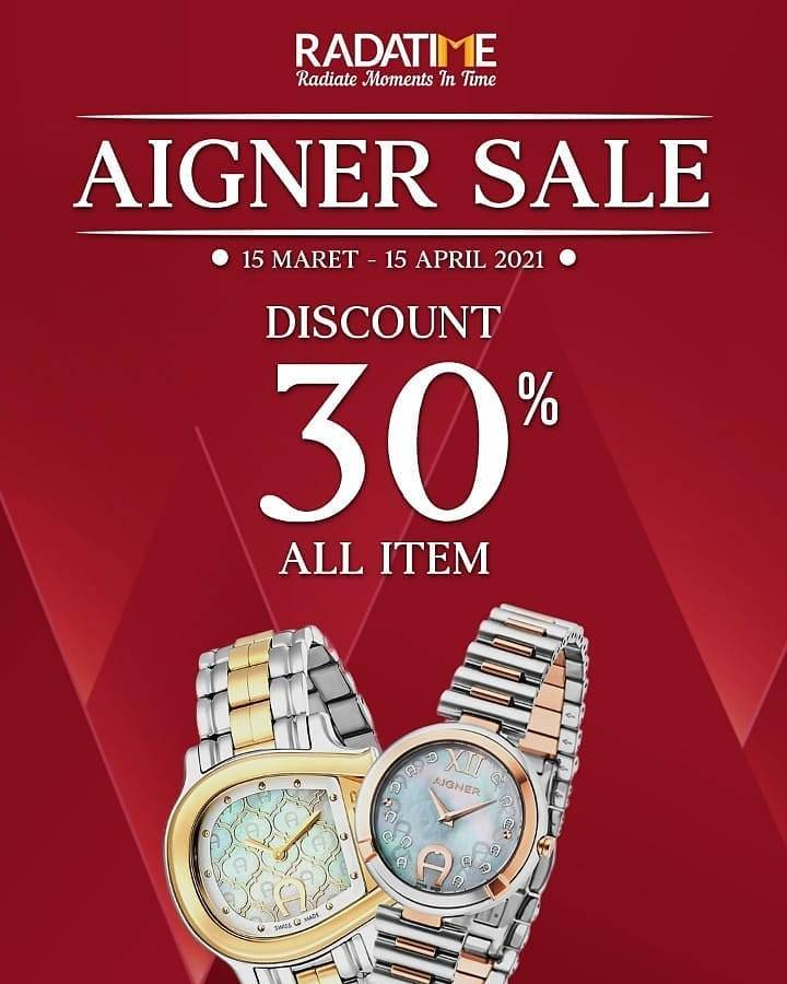 Diskon Aigner Discount 30% Off On All Items