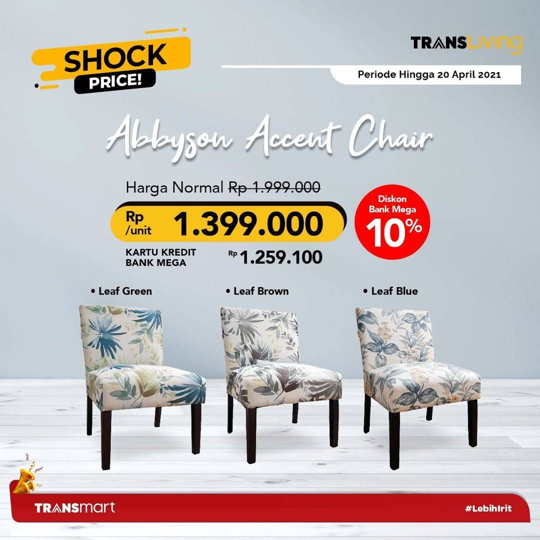 Promo diskon Katalog Promo Transmart Shock Price Periode 20 Maret - 20 April 2021