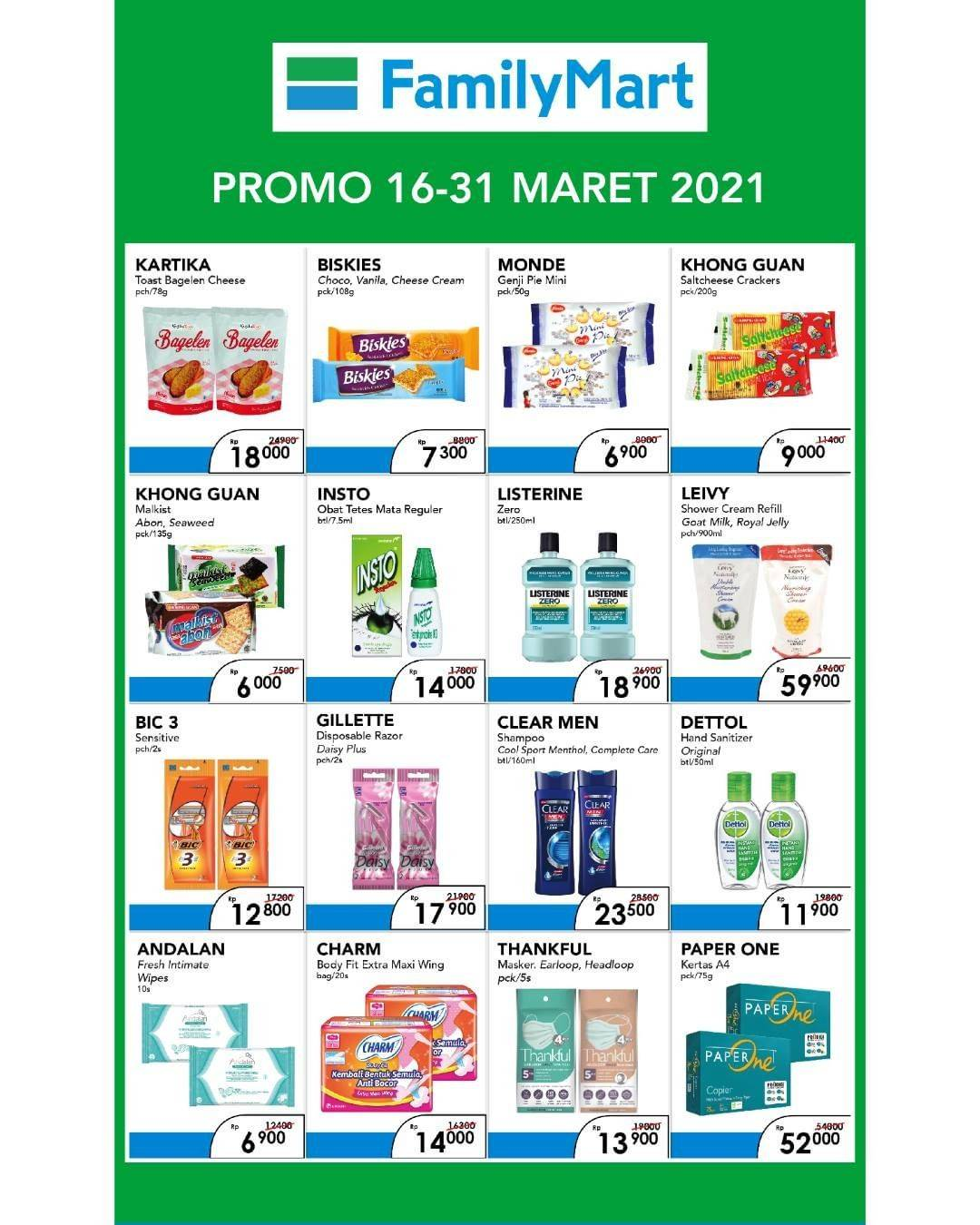 Promo diskon Katalog Promo Familymart Home Care Fair Periode 16 - 31 Maret 2021