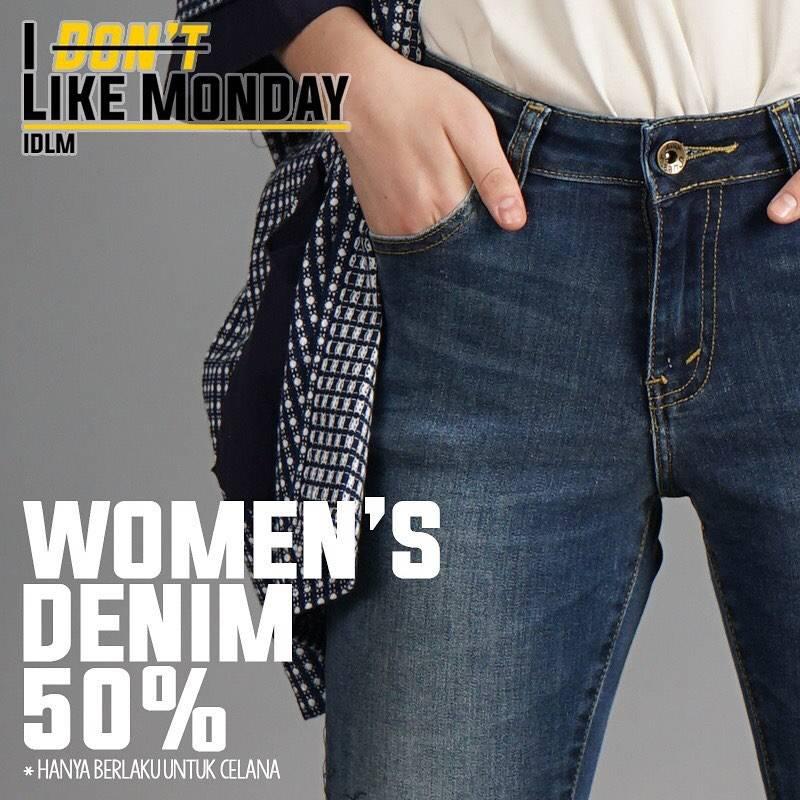 Diskon Lois Women Denim Diskon 50% Untuk Celana