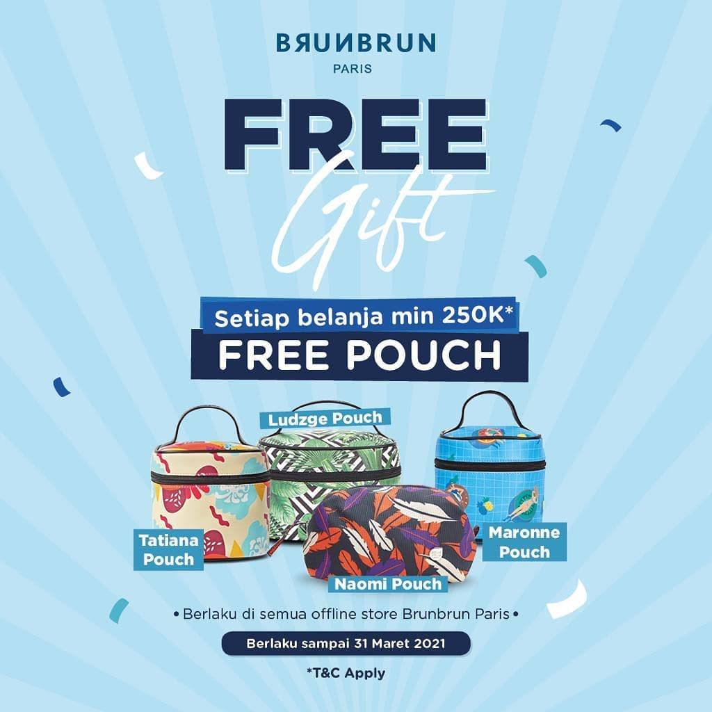 Diskon Brun Brun Free Pouch