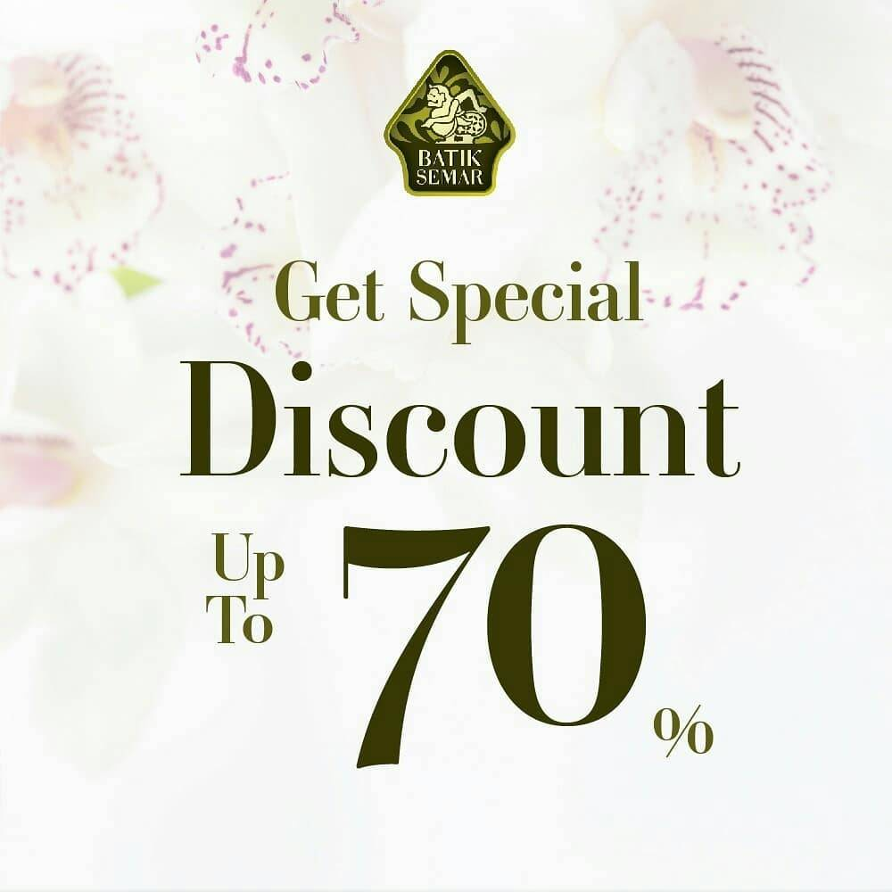 Diskon Batik Semar Get Special Dicount Up To 70% Off