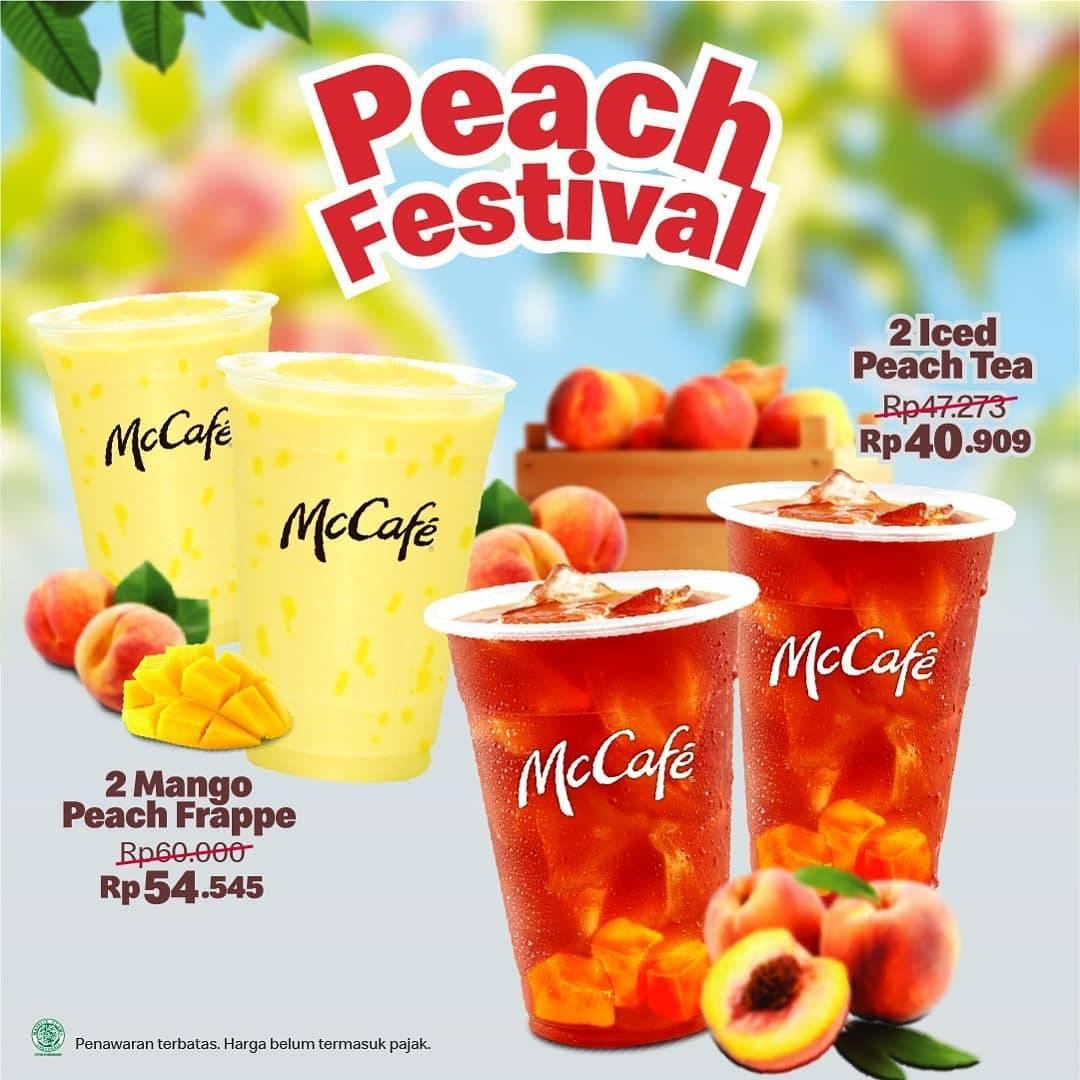 Diskon McDonalds Peach Festival Harga Mulai Dari Rp. 40.909