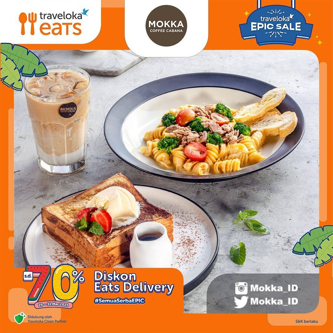 Diskon Mokka Special Discount Eats Delivery Up To 70% Off