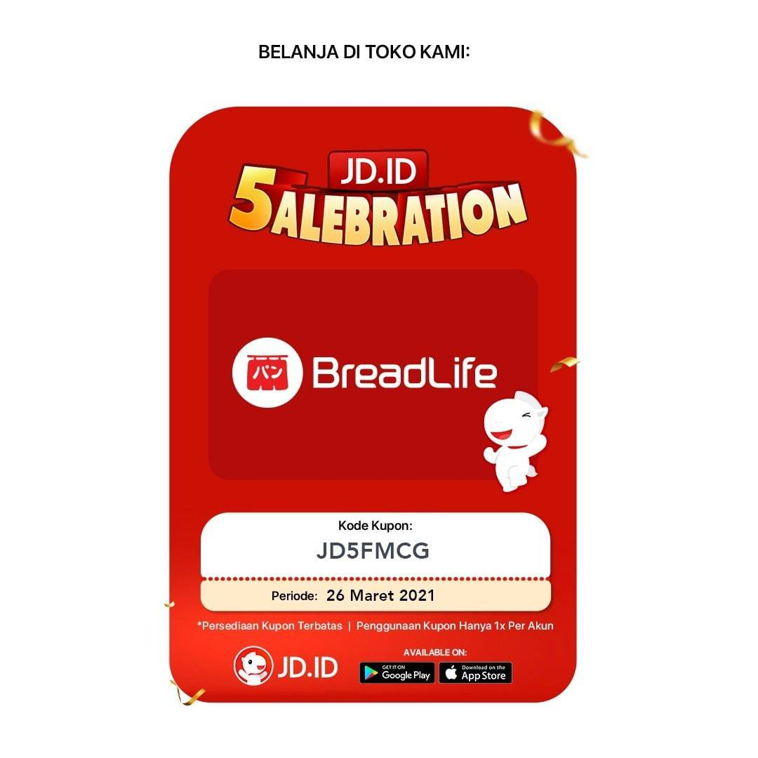 Promo diskon Breadlife Diskon Up To 80% Dengan JD.ID